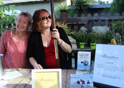 Moonstone Winery pouring in the Garden
